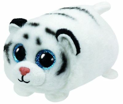 Zack Tiger - Teeny Ty - 6cm Mini TY Plush Teddy - Brand New Soft Toys