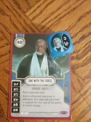 Star Wars Destiny - One with the Force + Dice tcg