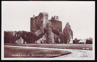 Ruins Of Castle Kennedy Stranraer Vintage Bamforth Photograph Postcard