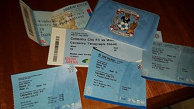 Coventry City FC Ticket Selection