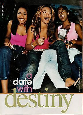 Destiny's Child Beyonce 3 Page Clipping