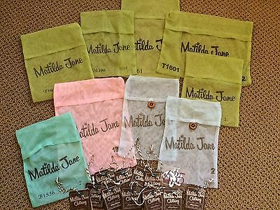 Matilda Jane Mesh Bag And Tags Lot For M2M Hair Pretties Or Crafts