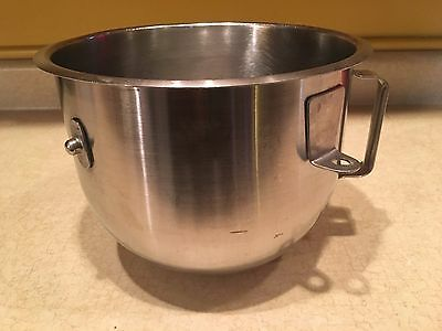 Vintage Hobart Stainless Steel 5 Quart Mixing Bowl