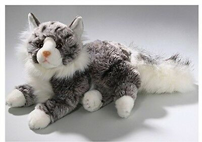 Soft Toy Cat, Maine Coon, 12'' Luxury plush washable (hand) flame resistant