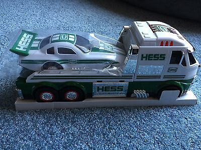 2016 HESS TOY TRUCK AND DRAGSTER *BRAND NEW SOLD OUT ONLINE* includes batteries