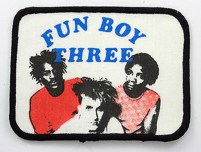 FUN BOY THREE 'Group' Vintage Printed Patch