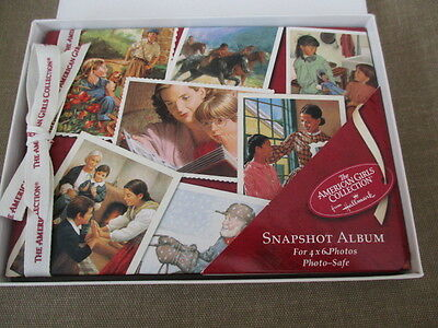 "2002 Hallmark The American Girl Collection Snapsot Album for 4""x 6"" Photos New"