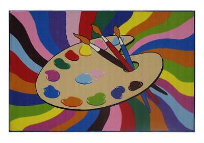Painting Time Kids Multicolor Rug [ID 74278]