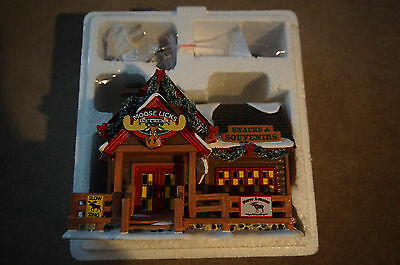 Dept 56 Snow Village New 2016 Moose Licks Snacks 4050984 Department 56 NO BOX