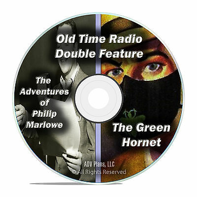 Philip Marlowe, The Green Hornet, 407 Episodes, Old Time Radio, OTR, DVD CD F68