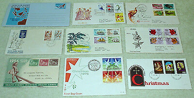 bulk lot - PACIFIC AREA FIRST DAY COVERS