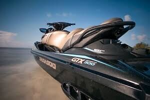 Seadoo GTX 300hp 2017 new as- on Boeing trailer. 7hrs only Only 2 months old.