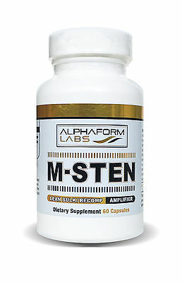 ALPHAFORM M-STEN  60cps MASS STRENGHT BUILDING SALE!!! FREE SHIPMENT TO EU!!