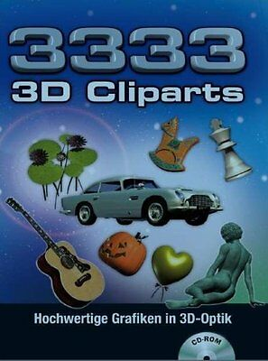 3333 3D Cliparts (PC, 2009, DVD Box) Neuware