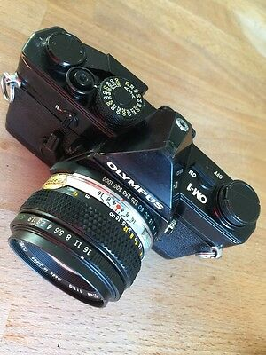 Olympus Professional OM1 35mm SLR Film Camera with 50mm lens fully working order