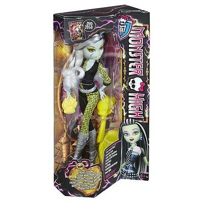 Monster High Freaky Fusion Inspired Ghouls Frankie Stein Doll Brand New Cbp35