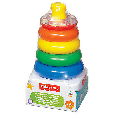 Fisher Price Brilliant Basics Rock - A - Stack Brand New In Box 71050
