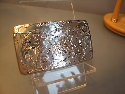 American Sterling silver calling or business card case Blackington attleboro US