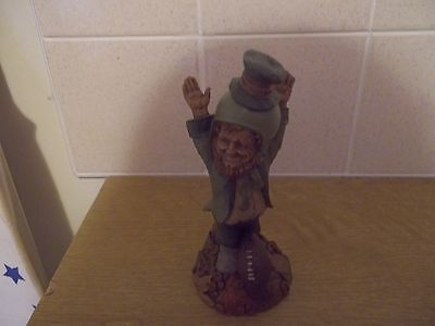 cairn studio tom clark statue football leprechaun second half made 1996 mint.