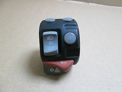 BMW R1200GS 2007 3,204 miles ONLY Left handlebar switchgear lights switch