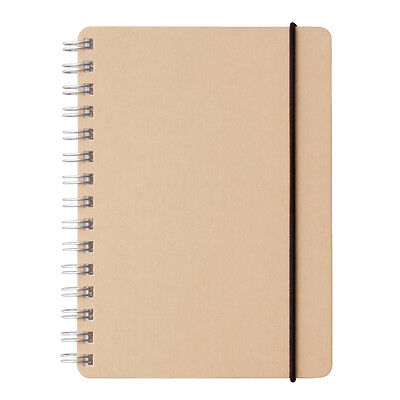 MUJI MoMA Recycled High Quality paper notebook A6 dot grid 70 sheets Double Ring