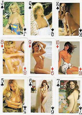 """Great Pack of """"Lovely Ladies - Nude Models"""" Playing Cards"""