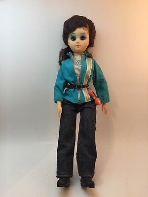 RARE Doll Brinns Collectible Bell Bellsouth AT&T Telephone Worker Woman Vtg NOS