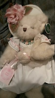 """LOVELY """"SPECIAL MOTHER""""from BEARINGTON Bear Сollection, 15,5"""" tall,the BEST GIFT"""