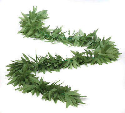 Marijuana Green Leaf Boa Cannabis Weed Pot Ganja Costume Accessory Prop 420 New