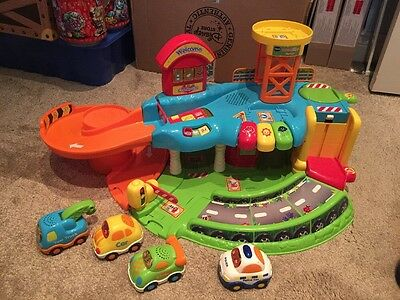Vtech Baby Toot-Toot Driver Garage With 4 Cars