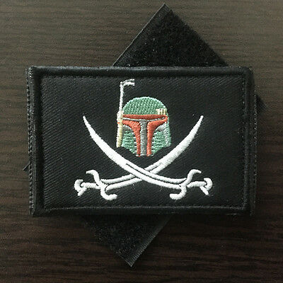 8*5cm Star Wars Darth Vader Tactical Morale Patch US Military Army Desert Badge