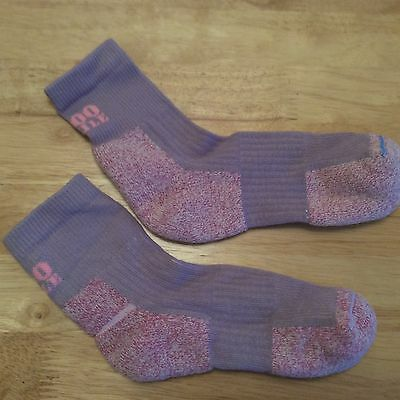 Size 3-4 ladies 1000Mile 2 Season walking socks lilac/purple