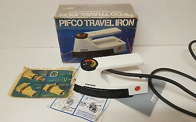 Pifco Travel Iron No1054 With Dual Voltage And Thermostatic Control  (Vintage)