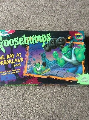 MB Goosebumps Board Game, One Day At Horrorland