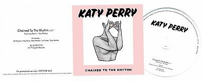 KATY PERRY Chained To The Rhythm Promo CD Promotional Rare Disc