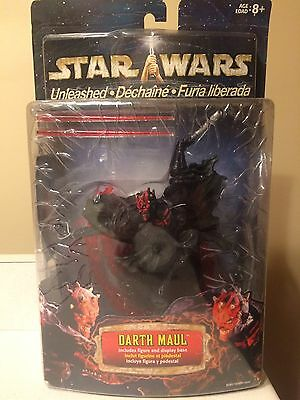 Star Wars -2002-Unleashed-Darth Maul-Action Figure