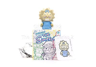 Kidrobot The Simpsons Series 2 MAGGIE ZOMBIE 1/100 Rare Chase Matt Groening