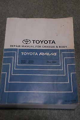 Toyota RAV4 Factory Dealer Manuals - Electrical + Chassis & Body (not Haynes)