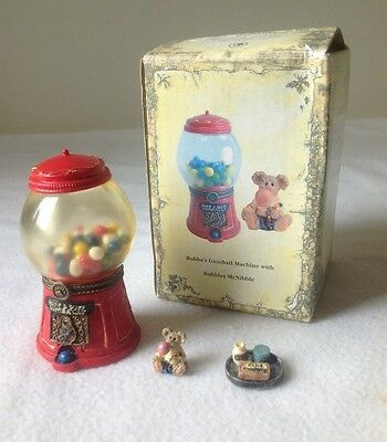 Boyds Uncle Bean's Treasure Box - Gumball Machine with Bubbles McNibble