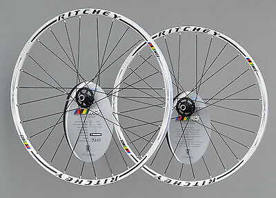 "Ritchey MTN WCS 26"" Laufradsatz Disc MTB Wheels Rim in weiss"