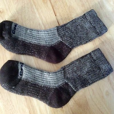 REDUCED Ladies Coolmax/Merino wool warm hiking socks Size  4-4&5-6