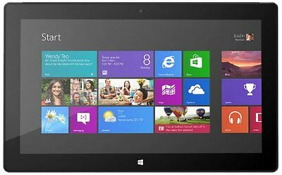 "Microsoft Surface Pro 128GB BLACK 10.6"" Tablet Intel i5-3317U 4GB 9UR-00001"