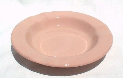 Buffalo China Pink Rouge Ware Ashtray EXCELLENT