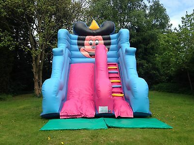 Mickey Mouse Inflatable Slide Bouncy Castle