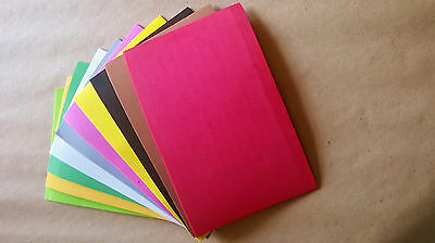Assorted Colours Of 2Mm Thick Closed Cell Foam Sheets For Fly Tying Or Crafts