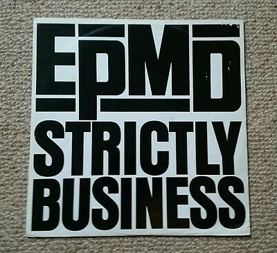 EPMD Strictly Business RARE 12 inch single