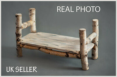 Newborn Bed Photo Prop Baby Photography Prop Wood Handmade