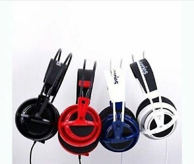 NEW HOT SteelSeries Siberia V2 Full-Size Headband Headsets 4 colors &8