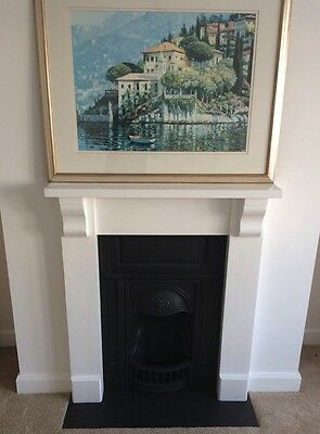 Cheap Black Slate fireplace hearth Stone 1200 x 600 x 30mm smooth surface