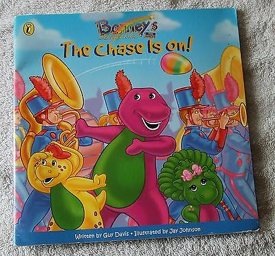 1998 Puffin Paperback - BARNEY'S GREAT ADVENTURE, THE CHASE IS ON!